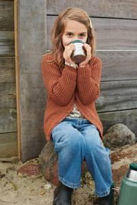 Bilde av Halvpatent Cardigan til barn - Garnpakke