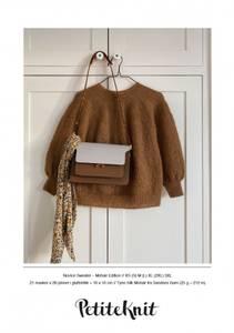 Bilde av PetiteKnit Novice Sweater Mohair edition -