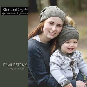 Bilde av KlompeLOMPE Familiestrikk