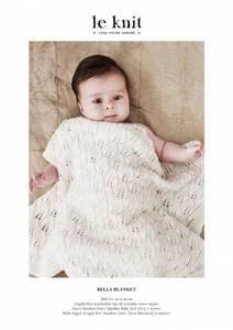 Bilde av le Knit Bella Teppe - Garnpakke