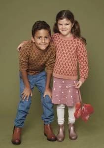 Bilde av Cecilie Skog#3 Trær genser til barn - Garnpakke