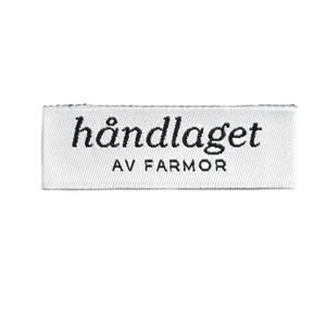 Bilde av Vevd symerke - håndlaget AV FARMOR