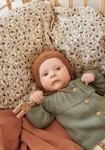 Bilde av Mosejakke Baby - Garnpakke