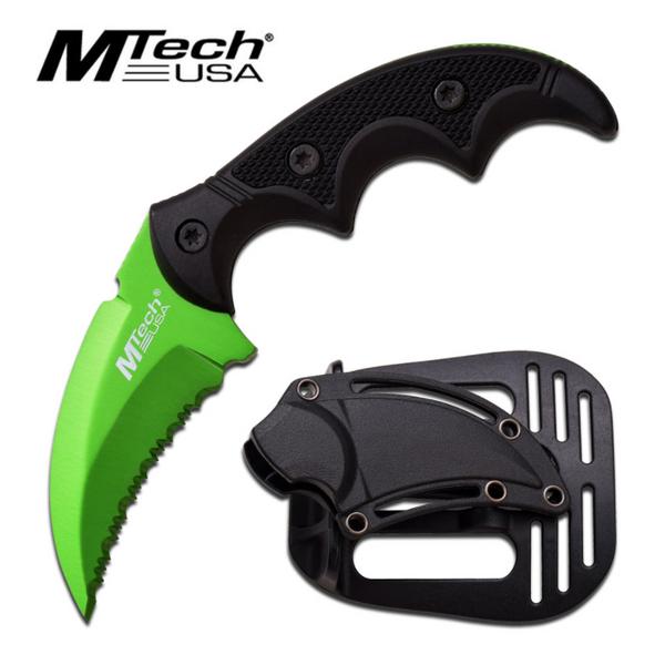 Bilde av MTech - Taktisk Karambitstyle Kniv med Slire -
