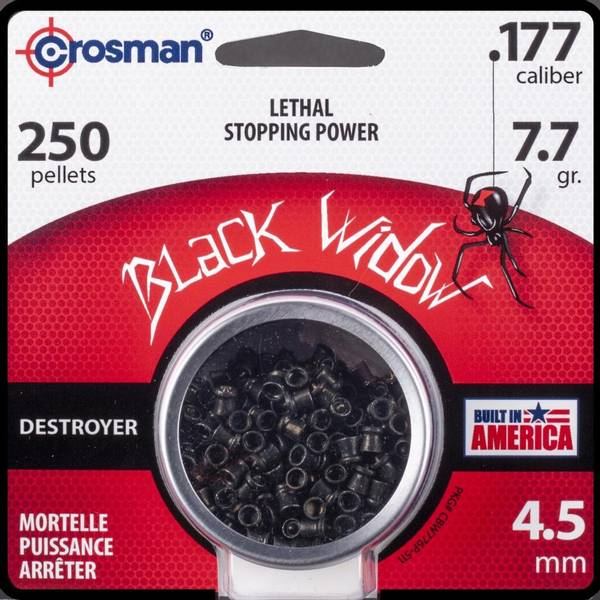 Bilde av Crosman Premier Black Widow - 250stk 4.5mm