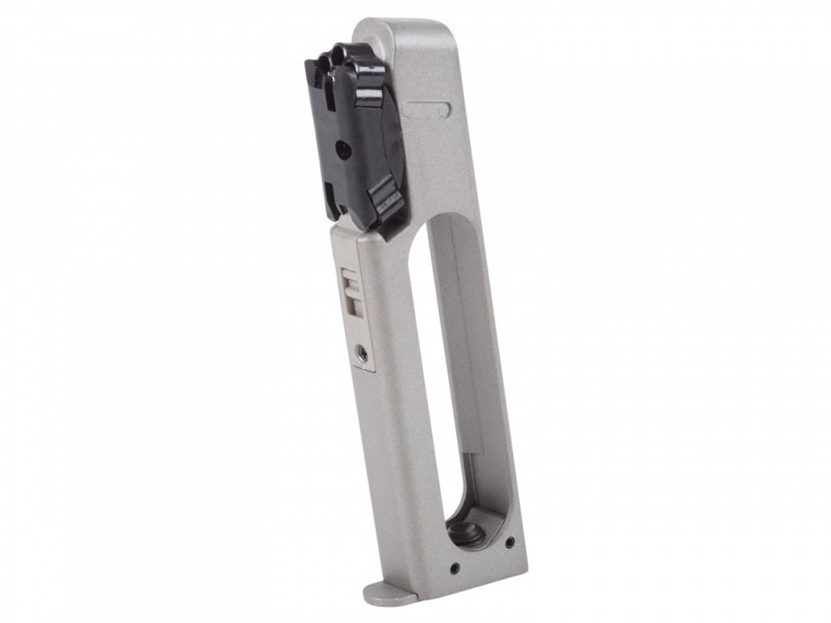 Crosman - C1911S Co2 Drevet Luftpistol - 4.5mm Pellets - Sølv