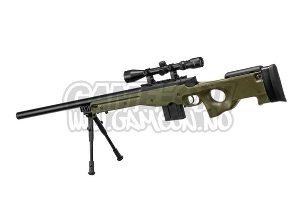 Bilde av Well - L96 AWP Oppgradert Sniper Rifle Set - OD