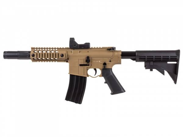 Bilde av Bushmaster MPW Full Auto - 4.5mm Luftgevær - TAN