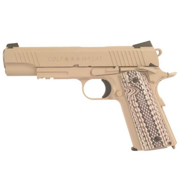 Bilde av Colt M1911 M45A1 TAN - Co2 drevet Softgun med