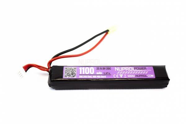Bilde av Batteri LI-FE 9.9V - 1100mAh - Slim Stick