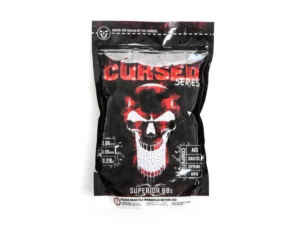 Bilde av ASG Cursed 0.28g Softgunkuler - 3600stk