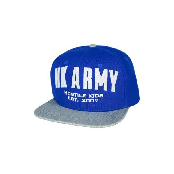 Bilde av HK Army Varsity Snaphat - Blue/Gray