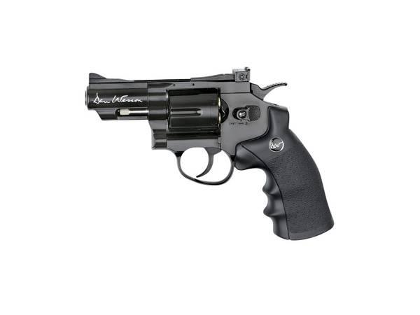 Bilde av Dan Wesson 2.5 Revolver Co2 Sort - Softgun