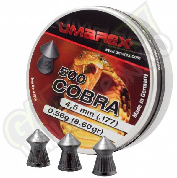 Bilde av Umarex Cobra med spiss 4.5mm - 500stk