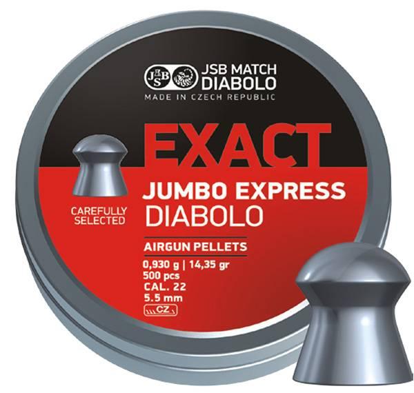 Bilde av JSB Jumbo Exact Express - 5.52mm - 250stk