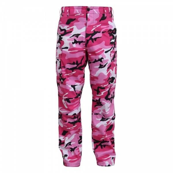 Bilde av Pink Camo BDU Bukse