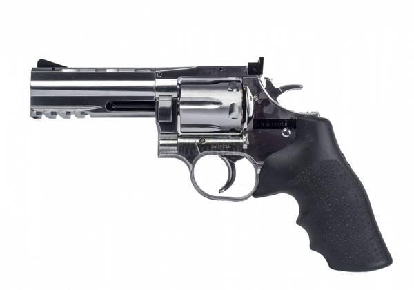 Bilde av Dan Wesson 715 4inch Revolver - Sølv - 6mm