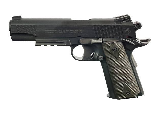 Bilde av Colt 1911 Rail - Co2 drevet Softgun uten Blowback