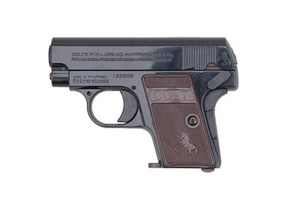 Bilde av Colt 25 Fjærdrevet Softgunpistol - Svart