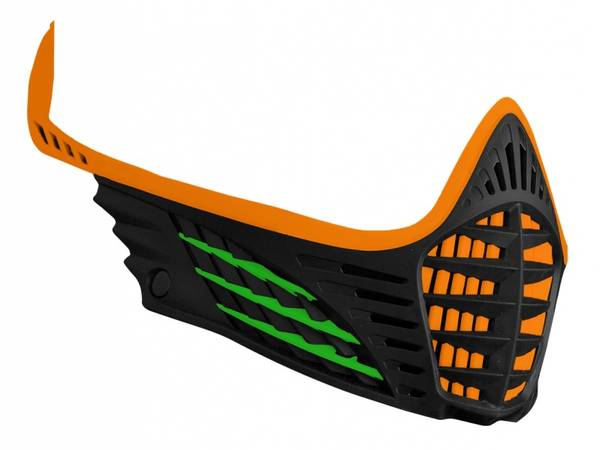 Bilde av VIO Facemask - Orange/Lime/Black