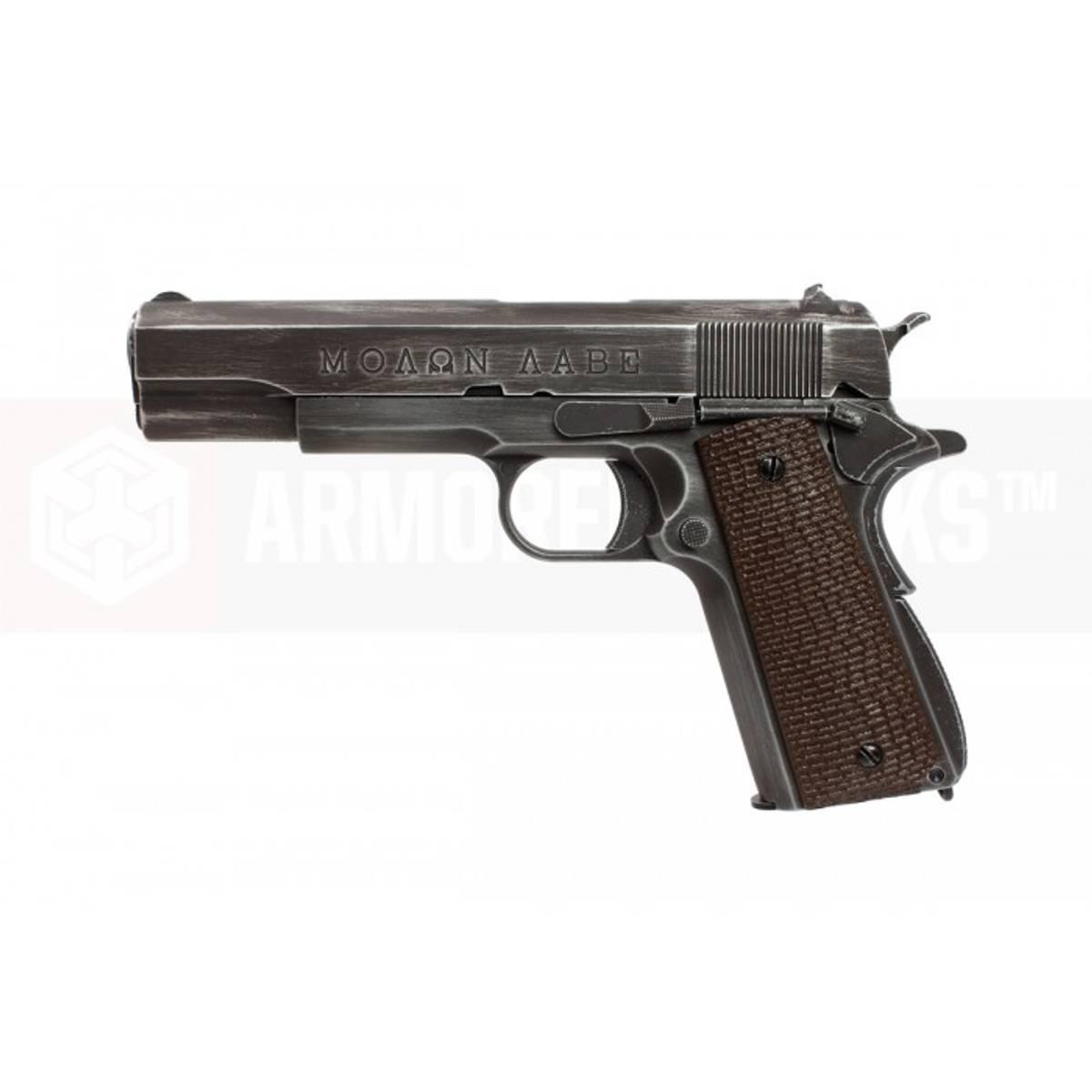 AW Custom - 1911 Molon Labe Softgun med Blowback - Full Metall