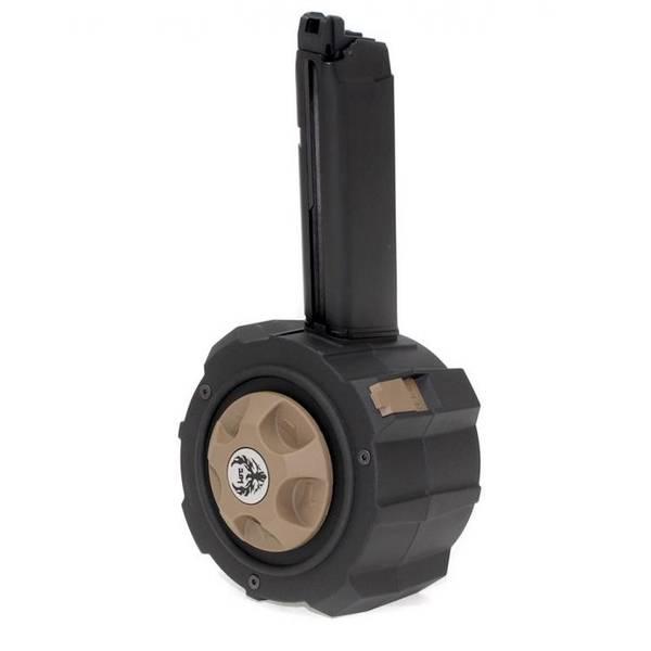 Bilde av HFC HD Drum Mag for Glock 17/18 - HPA