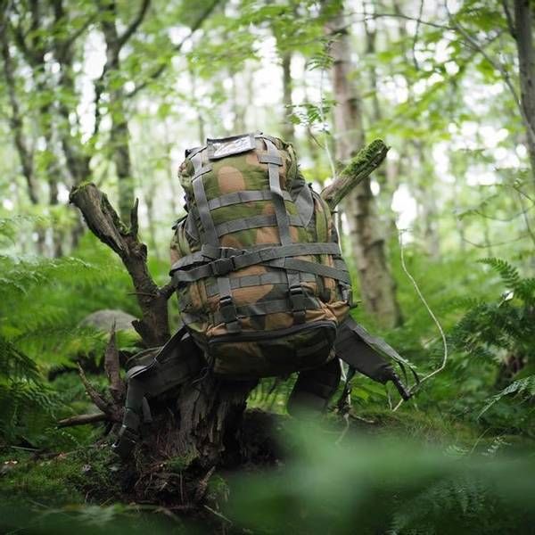 Bilde av GO! Taktisk Ryggsekk - Norsk Camo