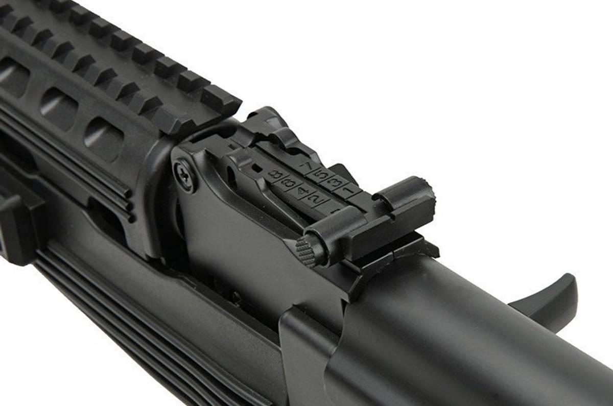 Spartac - SRT-08 (AK47 Tactical) Elektrisk Softgunrifle - PAKKE