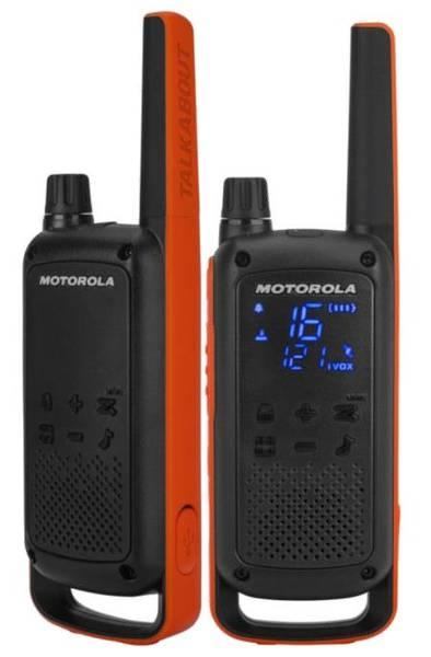 Bilde av Motorola T82 PMR Talkabout Walkie Talkie