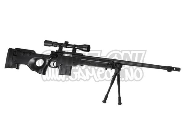 Bilde av L96 AWP Softgun - Oppgradert Sniper Rifle Set -