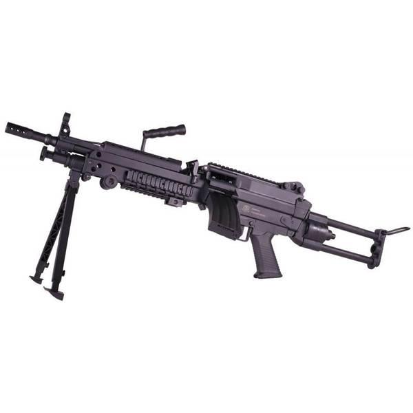 Bilde av FN M249 Elektrisk Softgunrifle Sportline - PAKKE