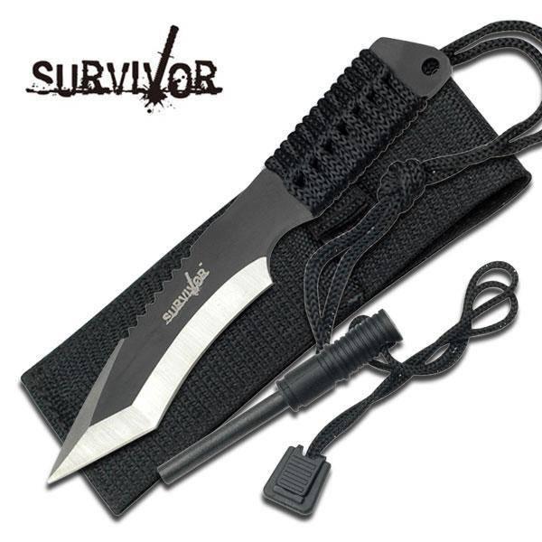 Bilde av Survivor - Taktisk Overlevelseskniv med Tanto