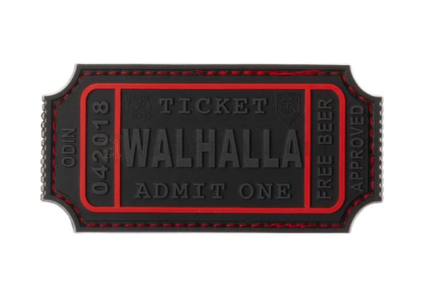 Bilde av Patch - Large Walhalla Ticket Rubber - Blackops