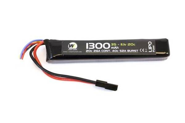 Bilde av NP Batteri Li-Po 11.1V 20C - 1300mAh - Stick Type