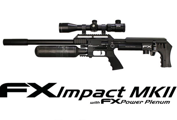 Bilde av FX Impact MKII - 4.5mm PCP Luftgevær - Svart