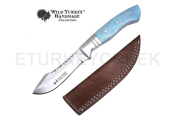 Bilde av Wild Turkey - Håndlaget Fixed Blade Kniv -