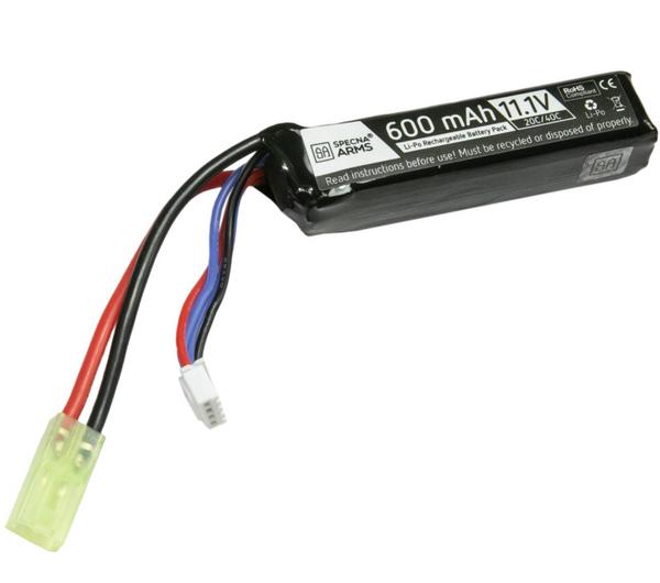 Bilde av SA - LiPo 11,1V 600mAh 20/40C Batteri til PDW -