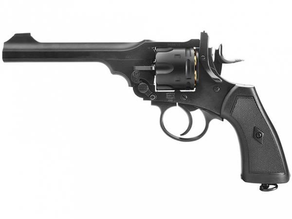 Bilde av Webley - MKVI Service Revolver - 6mm Softgun -