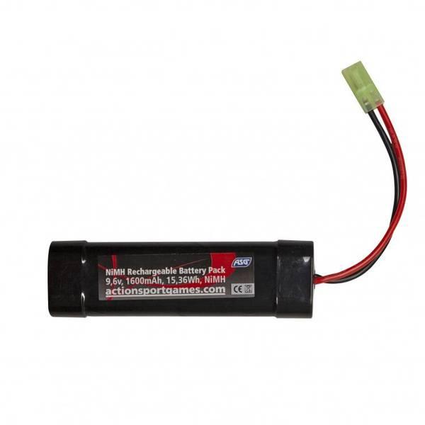Bilde av ASG Batteri - 9.6V 1600mAh NiMH - Tamiya