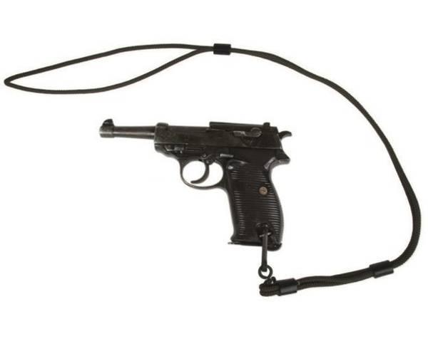 Bilde av Lanyard for pistol -Svart