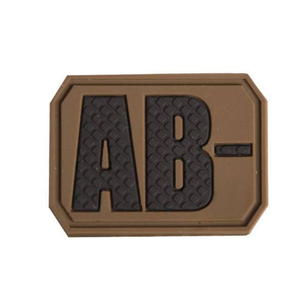 Bilde av Blodtype 3D Patch - Tan - AB-