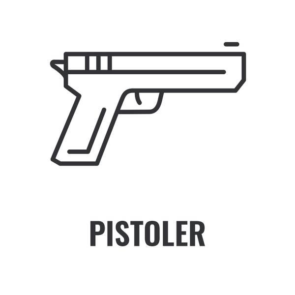 Her finner du over 300 forskjellige softgunpistoler