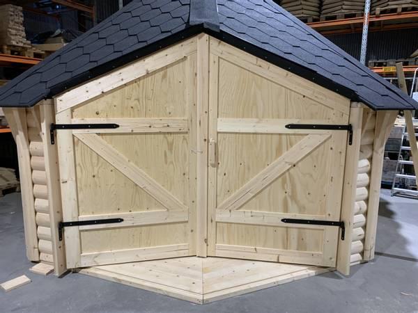 Bilde av Dörr till vindskydd 10 / 15 m2