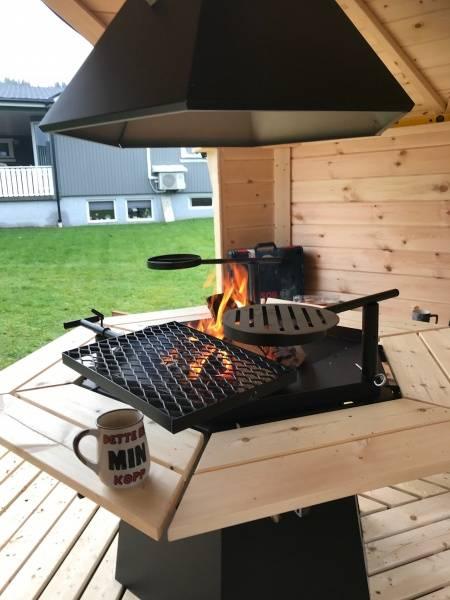 Bilde av 6-kant grill, pipe og topphatt Royal