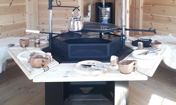 Bilde av 6-kant grill Premium