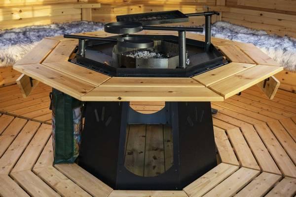 Bilde av 8-kant grill, pipe og topphatt Royal