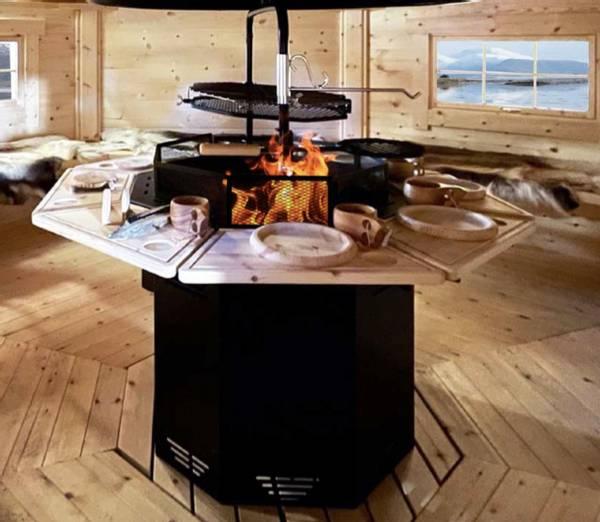 Bilde av 8-kant grill Premium
