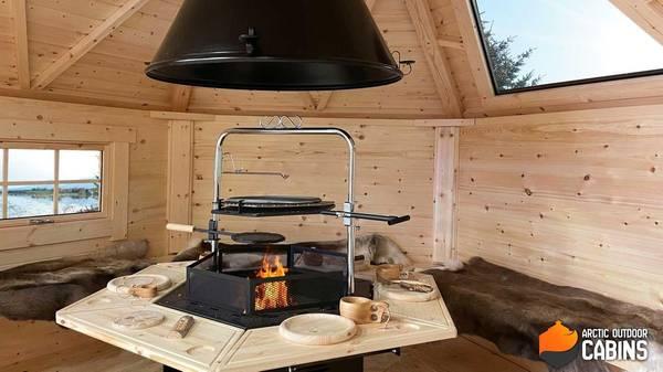 Bilde av 6-kant grill, pipe og topphatt Premium
