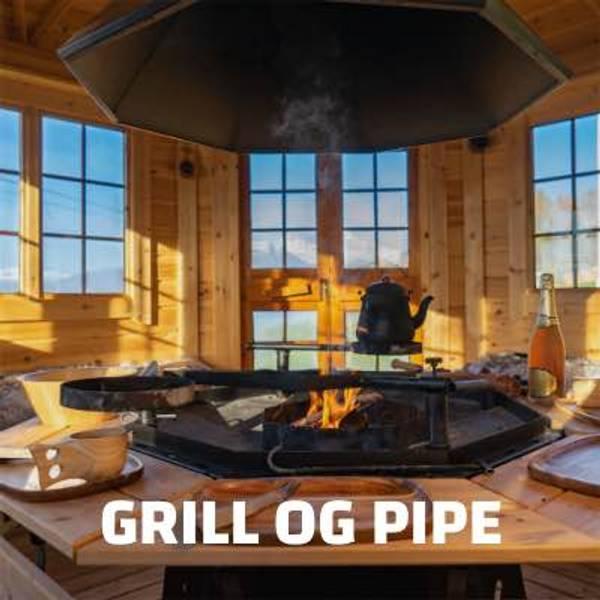 Grill og pipe
