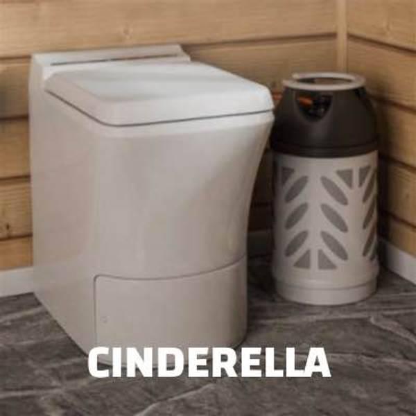 Cinderella forbrenningstoalett